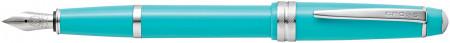 Cross Bailey Light Fountain Pen - Teal Chrome Trim