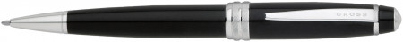 Cross Bailey Ballpoint Pen - Black Lacquer Chrome Trim