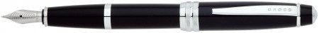 Cross Bailey Fountain Pen - Black Lacquer Chrome Trim