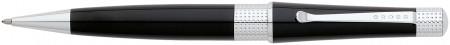 Cross Beverly Ballpoint Pen - Black Lacquer Chrome Trim