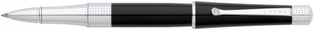 Cross Beverly Rollerball Pen - Black Lacquer Chrome Trim