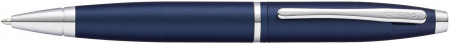 Cross Calais Ballpoint Pen - Midnight Blue Chrome Trim