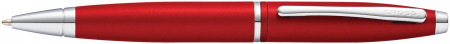Cross Calais Ballpoint Pen - Metallic Crimson Chrome Trim