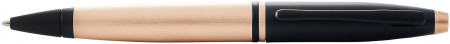 Cross Calais Ballpoint Pen - Rose Gold Black Trim