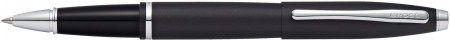 Cross Calais Rollerball Pen - Matte Black Chrome Trim