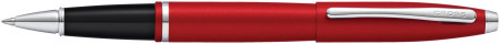 Cross Calais Rollerball Pen - Metallic Crimson Chrome Trim