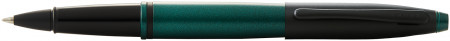 Cross Calais Rollerball Pen - Green Lacquer Black Trim