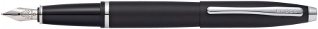 Cross Calais Fountain Pen - Matte Black Chrome Trim