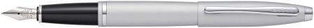 Cross Calais Fountain Pen - Satin Chrome
