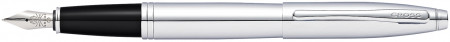 Cross Calais Fountain Pen - Polished Chrome