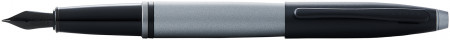 Cross Calais Fountain Pen - Grey Lacquer Black Trim