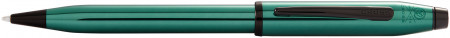 Cross Century II Ballpoint Pen - Translucent Green Black PVD Trim