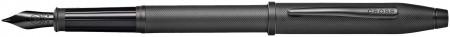Cross Century II Fountain Pen - Micro Knurled Black PVD