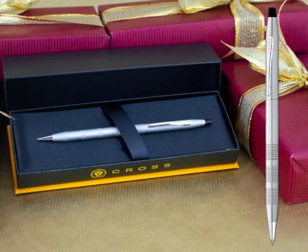 Cross Classic Century Ballpoint Pen - Satin Chrome