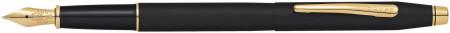Cross Classic Century Fountain Pen - Classic Black Gold trim
