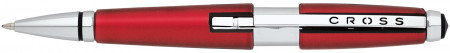 Cross Edge Rollerball Pen - Metallic Red