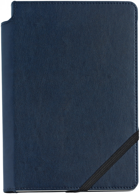 Cross Dotted Leather Journal - Midnight Blue - Medium