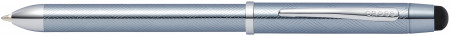 Cross Tech3+ Multipen - Frosty Steel Chrome Trim