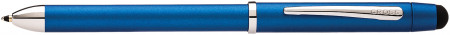 Cross Tech3+ Multipen - Metallic Blue Chrome Trim