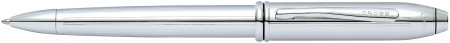 Cross Townsend Ballpoint Pen - Lustrous Chrome