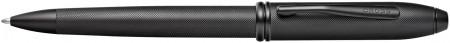 Cross Townsend Ballpoint Pen - Micro Knurled Black PVD