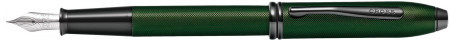Cross Townsend Fountain Pen - Micro Knurled Green PVD