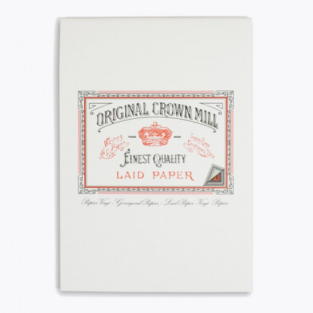 Crown Mill Classics A5 Paper Pad - 50 Sheets - White