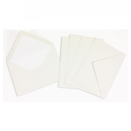 Crown Mill Classics C6 Envelopes - Pack of 25 - White