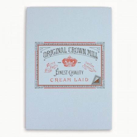 Crown Mill Classics A4 Paper Pad - 50 Sheets - Blue