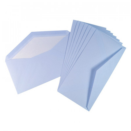 Crown Mill Classics DL Set of 15 Cards and Envelopes - Blue