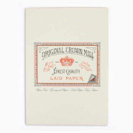 Crown Mill Classics A4 Paper Pad - 50 Sheets - Cream