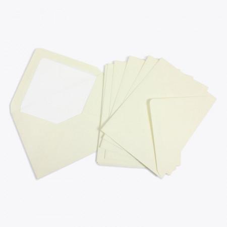 Crown Mill Classics C6 Envelopes - Pack of 25 - Cream