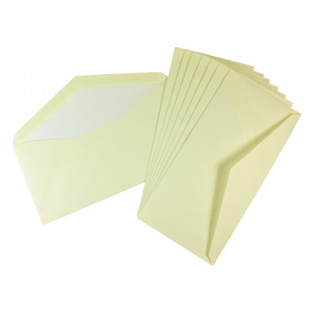 Crown Mill Classics DL Envelopes - Pack of 25 - Cream