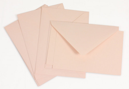 Crown Mill Classics C6 Set of 15 Cards and Envelopes - Pink