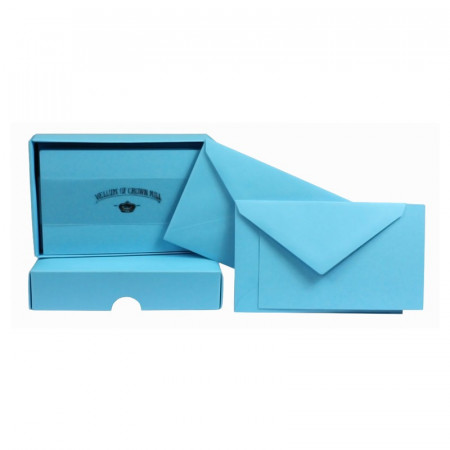 Crown Mill Colour Line Set of 25 Cards and Envelopes - Arctic