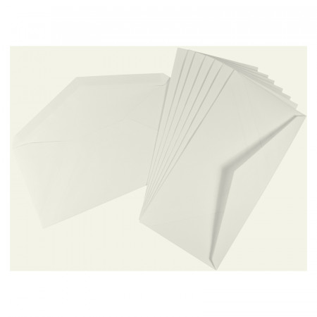 Crown Mill Computer Line DL 100gsm Envelopes - Pack of 50 - White