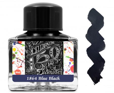 Diamine Ink Bottle 40ml - 1864 Blue Black