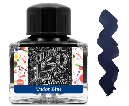 Diamine Ink Bottle 40ml - Tudor Blue