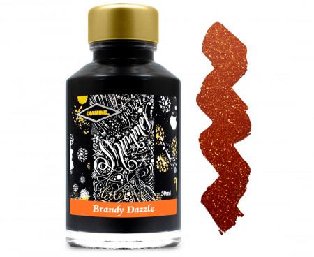 Diamine Ink Bottle 50ml - Brandy Dazzle
