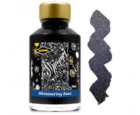 Diamine Ink Bottle 50ml - Shimmering Seas