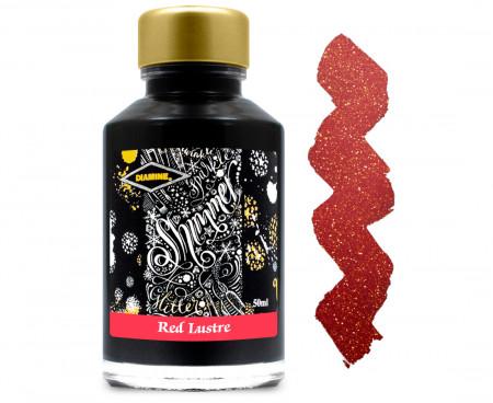 Diamine Ink Bottle 50ml - Red Lustre