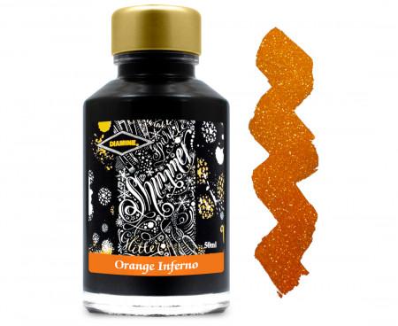 Diamine Ink Bottle 50ml - Inferno Orange