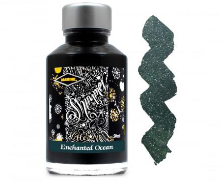 Diamine Ink Bottle 50ml - Enchanted Ocean