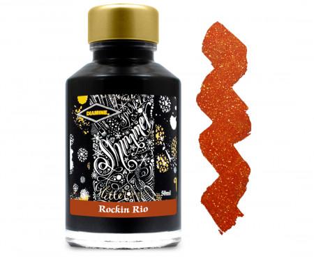 Diamine Ink Bottle 50ml - Rockin Rio
