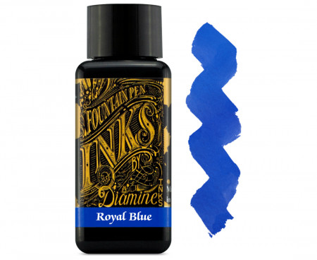 Diamine Ink Bottle 30ml - Royal Blue