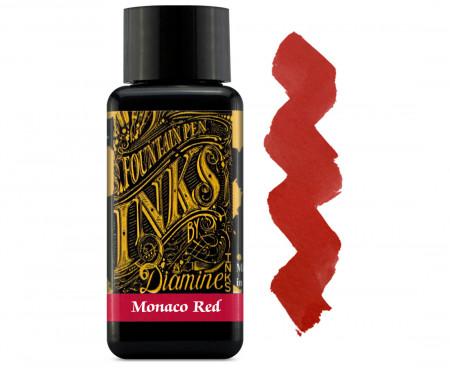 Diamine Ink Bottle 30ml - Monaco Red