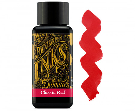 Diamine Ink Bottle 30ml - Classic Red