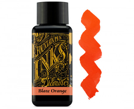 Diamine Ink Bottle 30ml - Blaze Orange