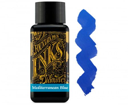 Diamine Ink Bottle 30ml - Mediterranean Blue