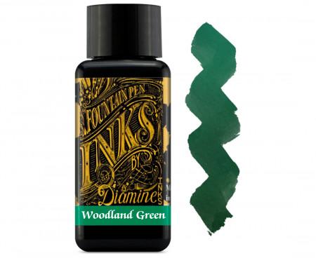 Diamine Ink Bottle 30ml - Woodland Green